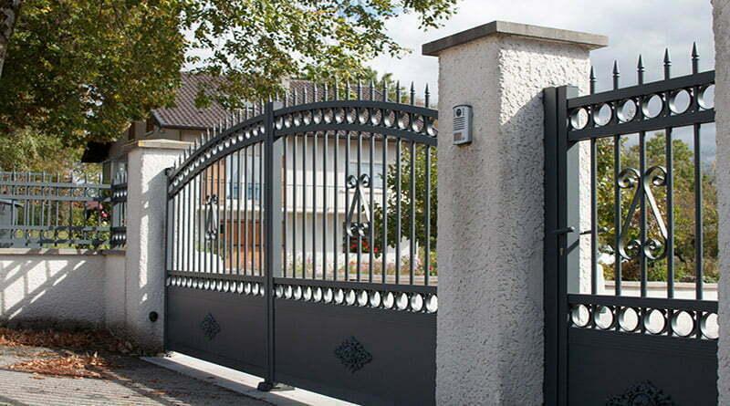 portail alu de style portail ferronnerie