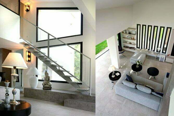 chassis fixe pour villa contemporaine et moderne d'architecte