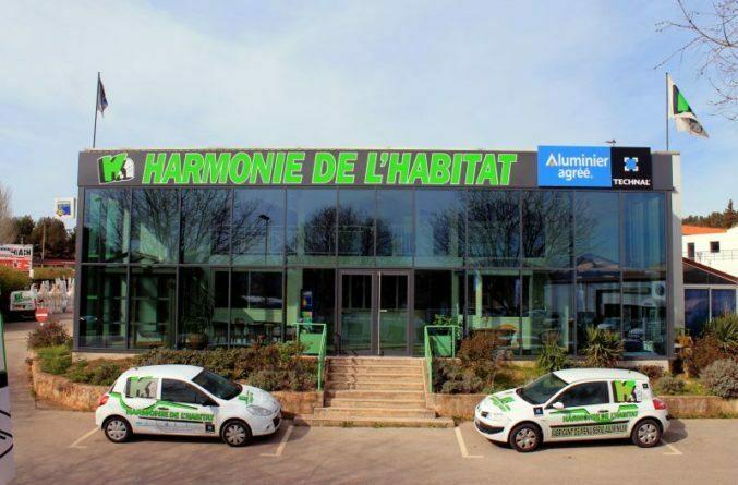 harmonie habitat menuiserie aluminium et pvc Aix en Provence