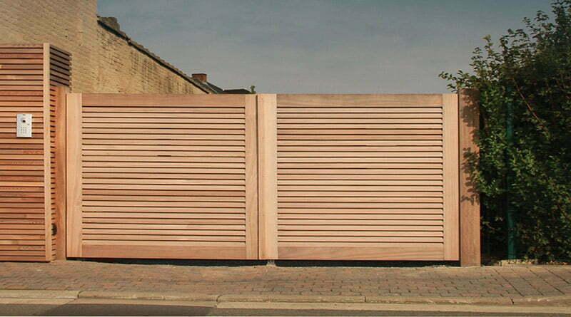 comment choisir un portail en bois blanc ?