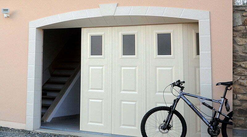 porte de garage coulissante sectionnelle